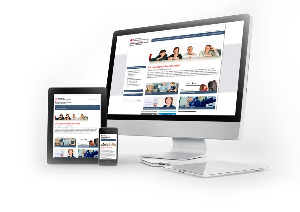 Webdesign DRK